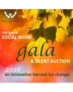2016 Social Work Gala and Silent Auction