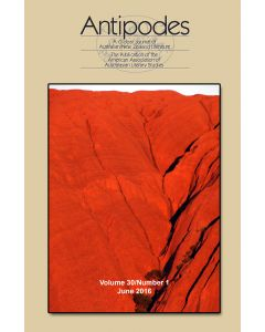 Antipodes Volume 30, Number 1 (June 2016)