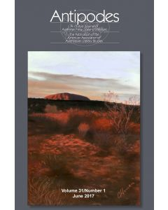 Antipodes Volume 31, Number 1 (June 2017)