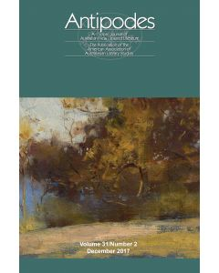 Antipodes Volume 31, Number 2 (December 2017)