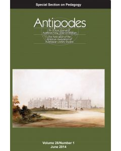 Antipodes Volume 28, Number 1 (June 2014)