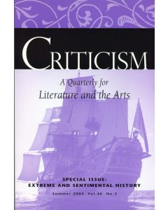 Criticism, Volume 46, Number 3, Summer 2004