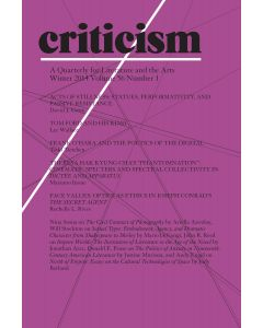 Criticism, Volume 56, Number 1, Winter 2014
