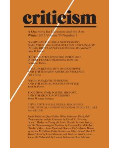 Criticism, Volume 59, Number 1, Winter 2017