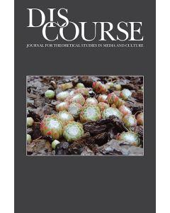 Discourse Volume 38, Number 1, Winter 2016
