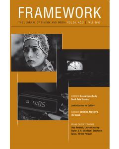 Framework Volume 54, Number 2, Fall 2013