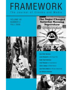 Framework Volume 49, Number 2, Fall 2008