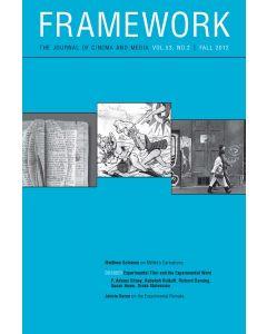Framework Volume 53, Number 2, Fall 2012