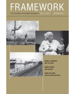 Framework Volume 57, Number 1, Spring 2016