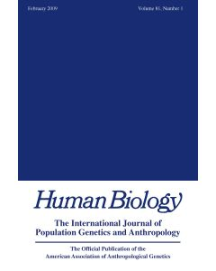 Human Biology Volume 81, Number 1, February 2009