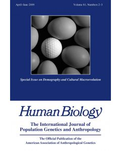 Special Issue on Demography and Cultural Macroevolution
