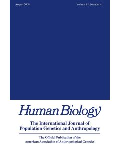 Human Biology Volume 81, Number 4, August 2009