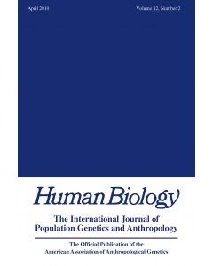 Human Biology Volume 82, Number 2, April 2010