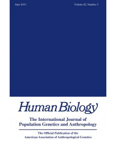 Human Biology Volume 82, Number 3, June 2010