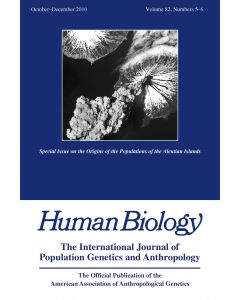 Special Issue on the Origins of the Populations of the Aleutian Islands