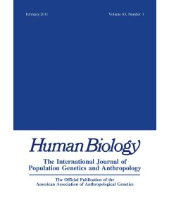 Human Biology Volume 83, Number 1, February 2011
