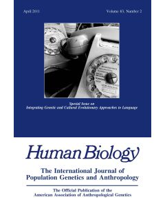 Human Biology Volume 83, Number 2, April 2011