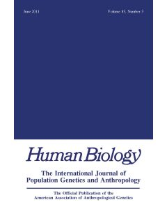 Human Biology Volume 83, Number 3, June 2011