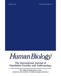 Human Biology Volume 83, Number 5, October 2011
