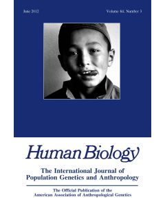 Human Biology Volume 84, Number 3, June 2012
