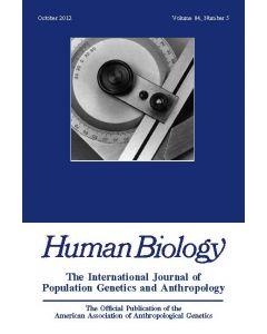 Human Biology Volume 84, Number 5, October 2012