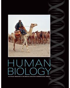 Human Biology Individual Print Subscription