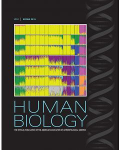 Human Biology Volume 87, Number 2, Spring 2015