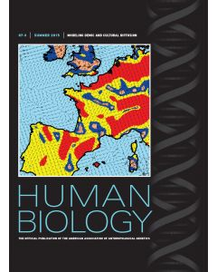 Human Biology Volume 87, Number 3, Summer 2015
