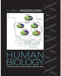 Human Biology Volume 88, Number 2, Spring 2016
