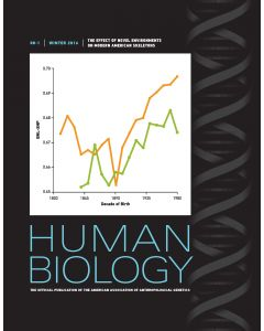 Human Biology Volume 88, Number 1, Winter 2016
