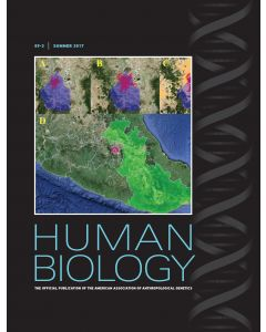 Human Biology Volume 89, Number 3, Summer 2017