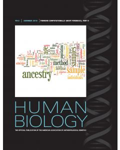 Human Biology Volume 90, Number 3, Summer 2018