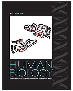 Human Biology Volume 91, Number 2, Spring 2019