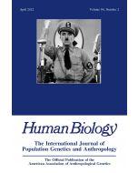 Human Biology Volume 84, Number 2, April 2012
